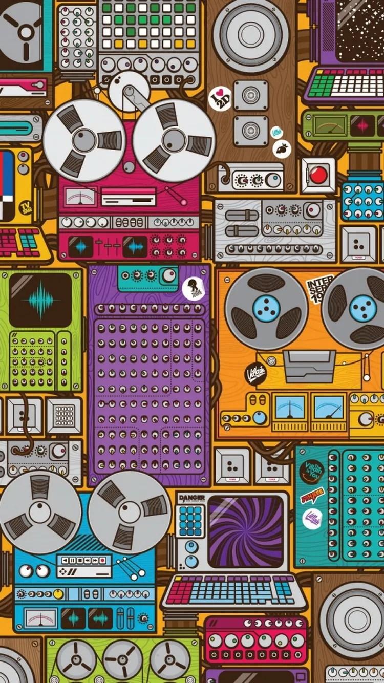 iPhone wallpaper music tools Music