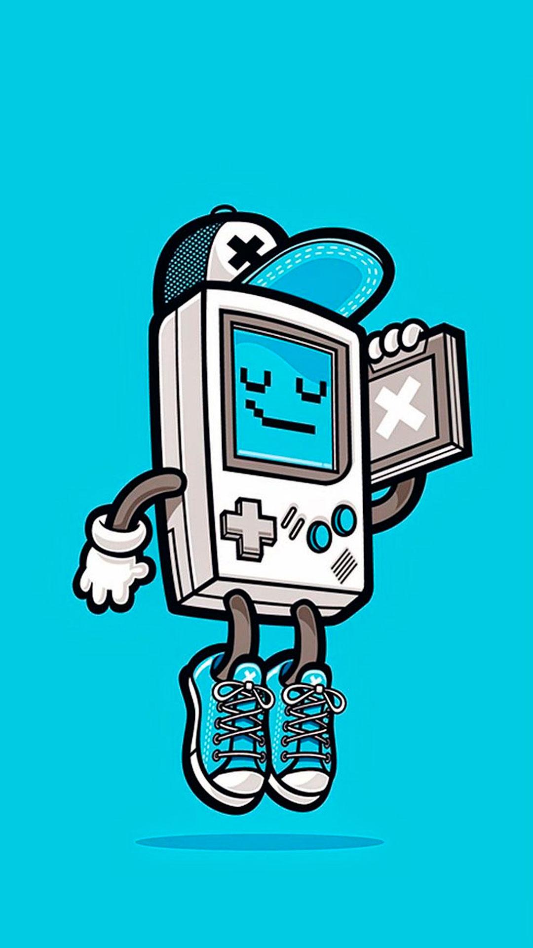 iPhone wallpaper retro games gameboy Retro games