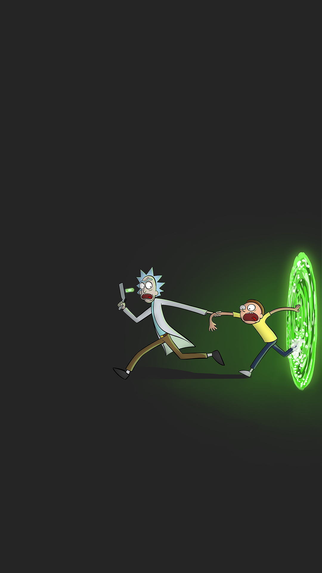 iPhone wallpaper rick and morty1 Rick and Morty