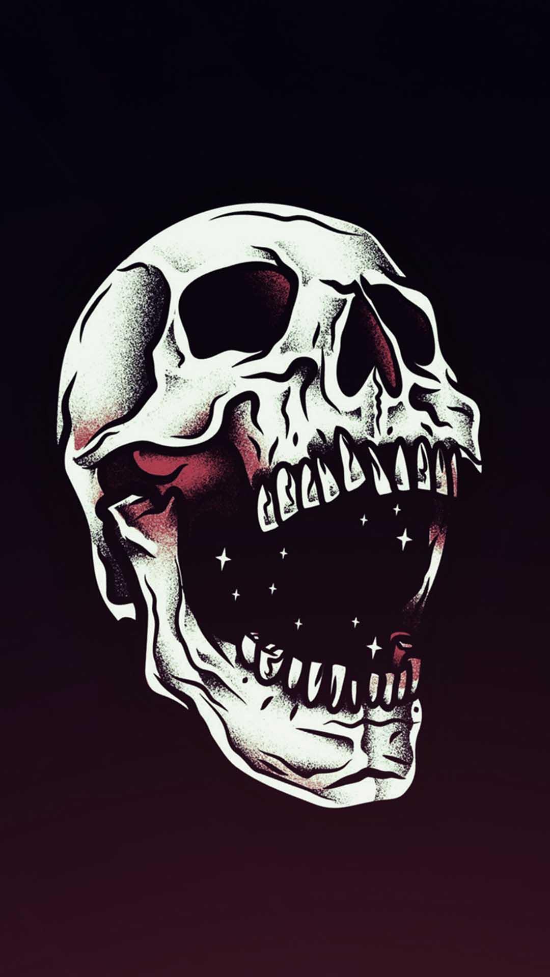 iPhone wallpaper skull Skull