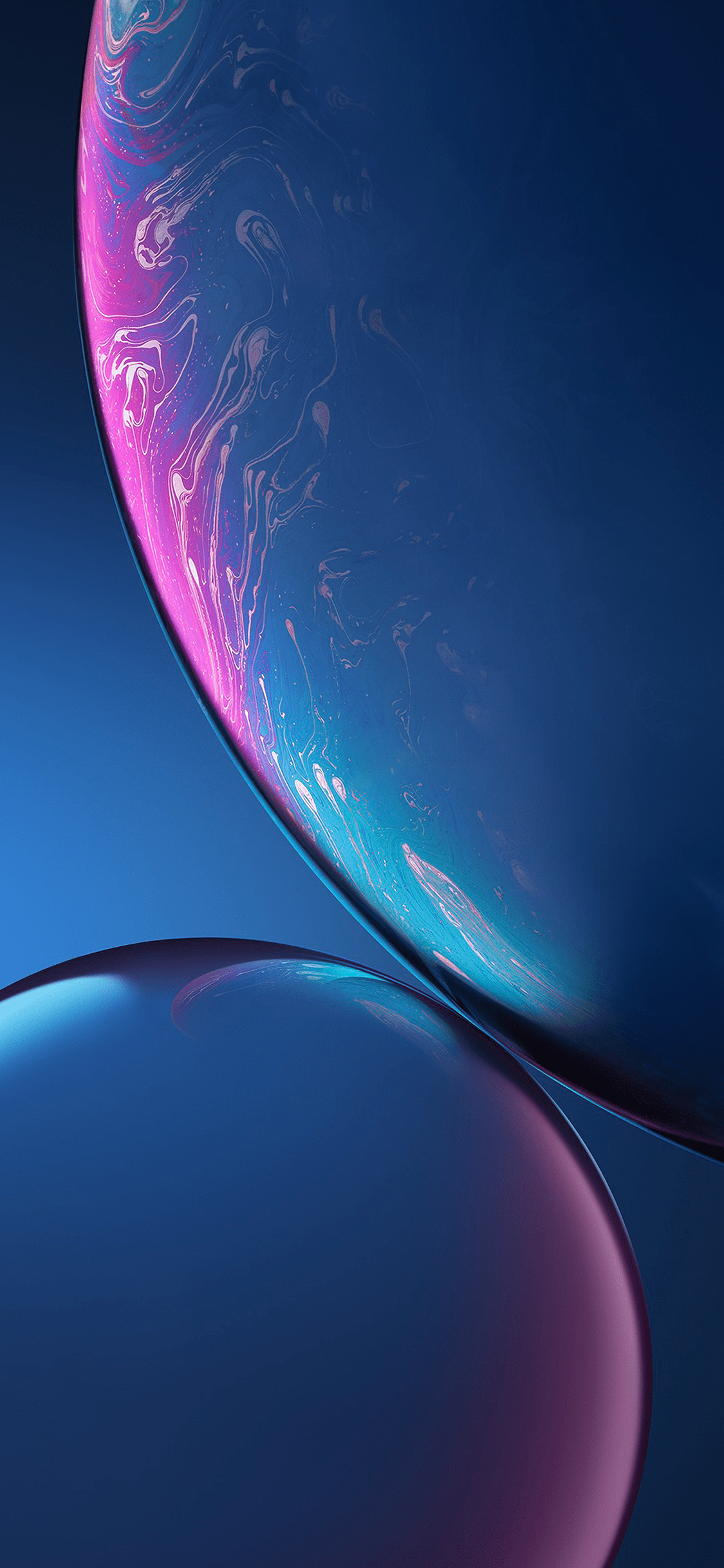 iPhone wallpaper ios 12 wallpapers blue iOS 12 Wallpapers