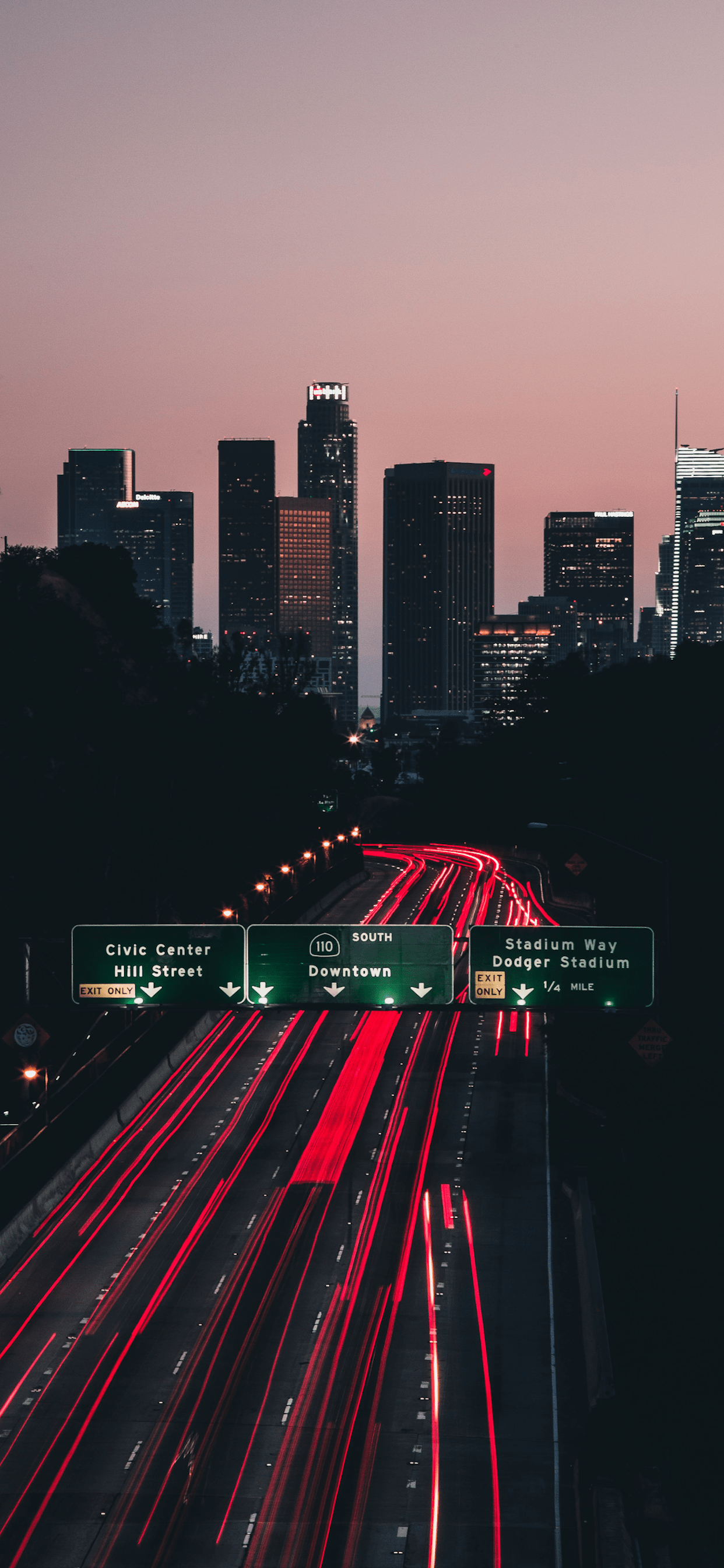 iPhone wallpaper road los angeles Road
