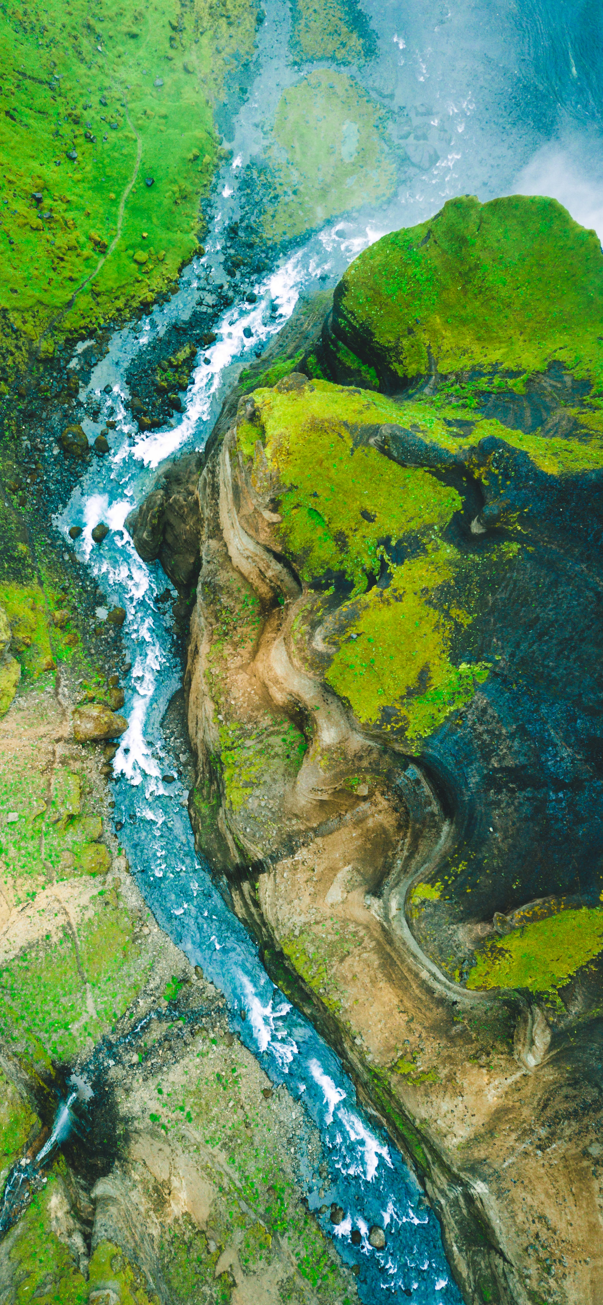 iPhone wallpapers aerial images iceland Aerial Images