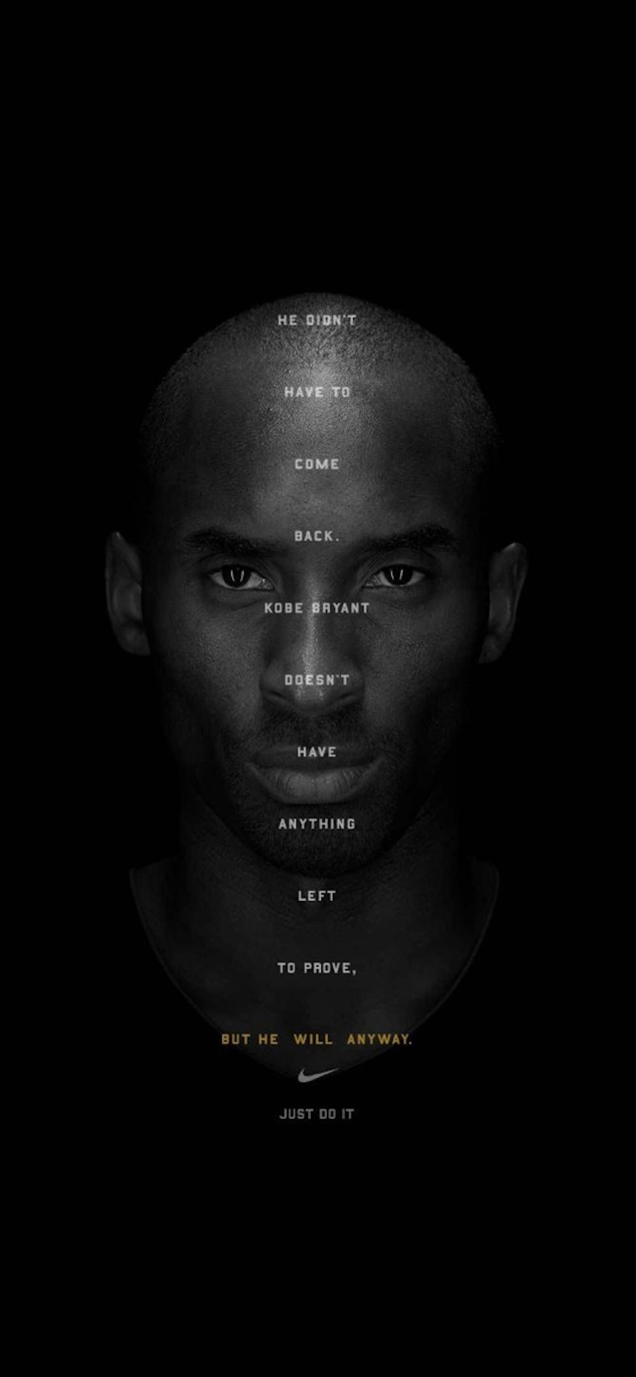 iPhone wallpapers basket kobe bryant face Kobe Byant