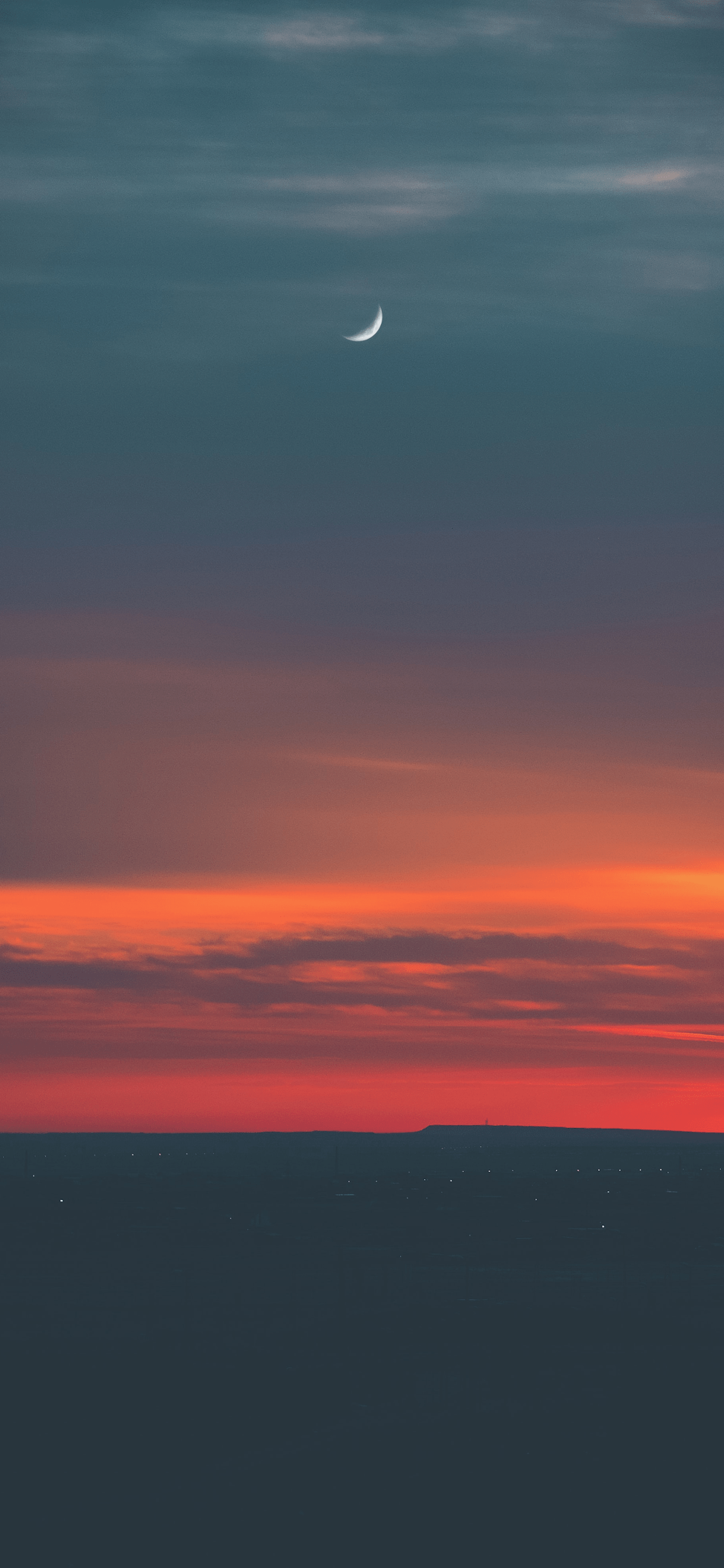 iPhone wallpapers moon sunset Moon