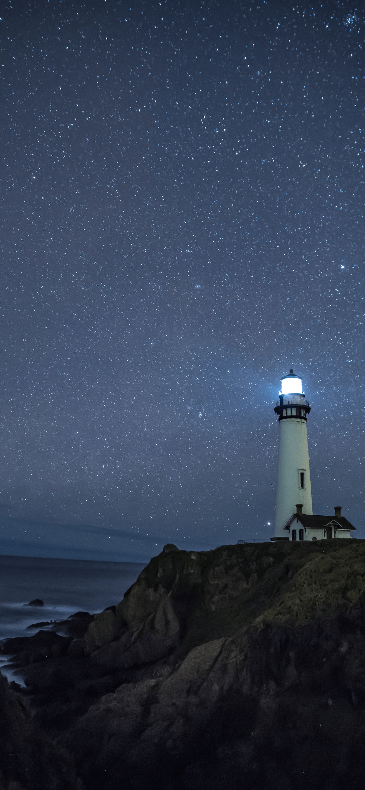 iPhone wallpapers lighthouse pigeon point Headlight