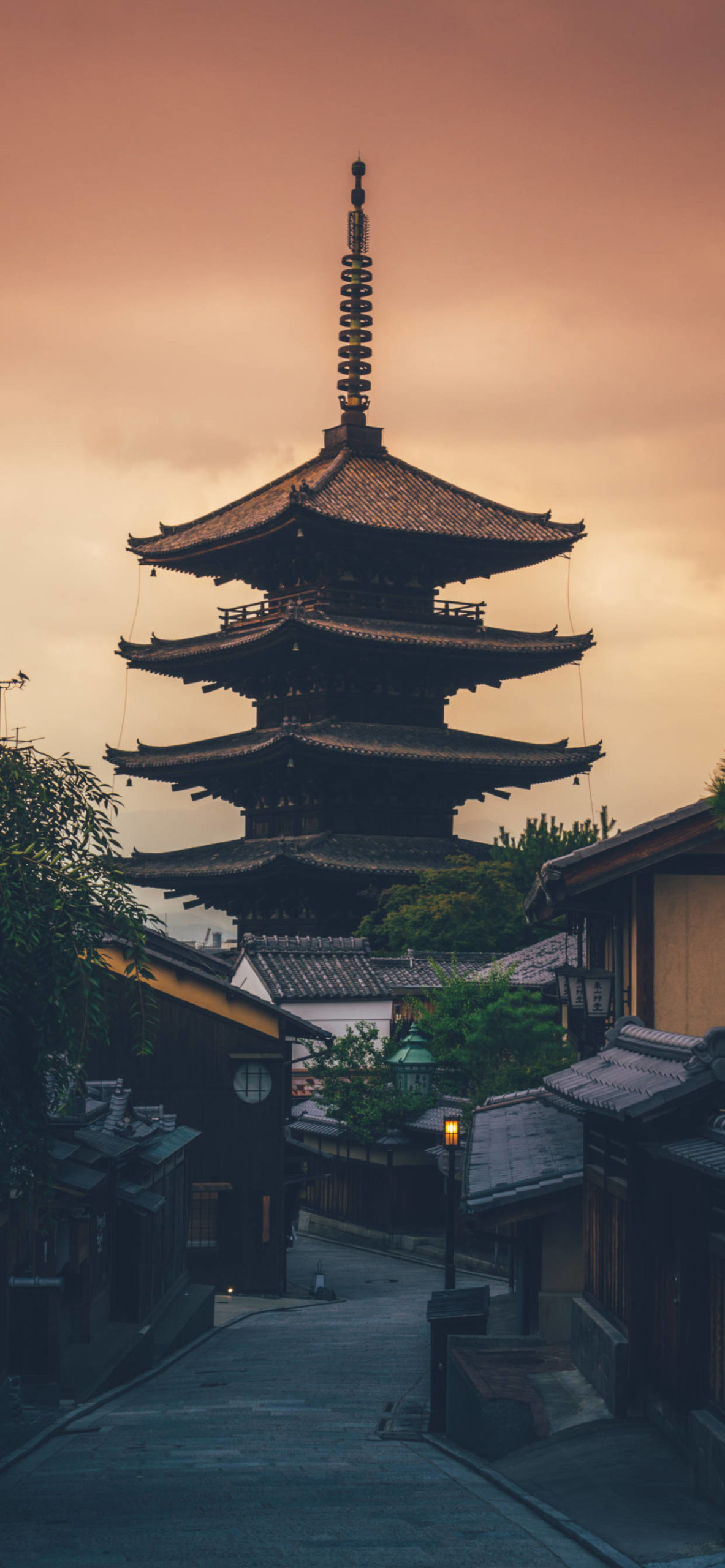 iPhone wallpapers japan temple scaled Japan