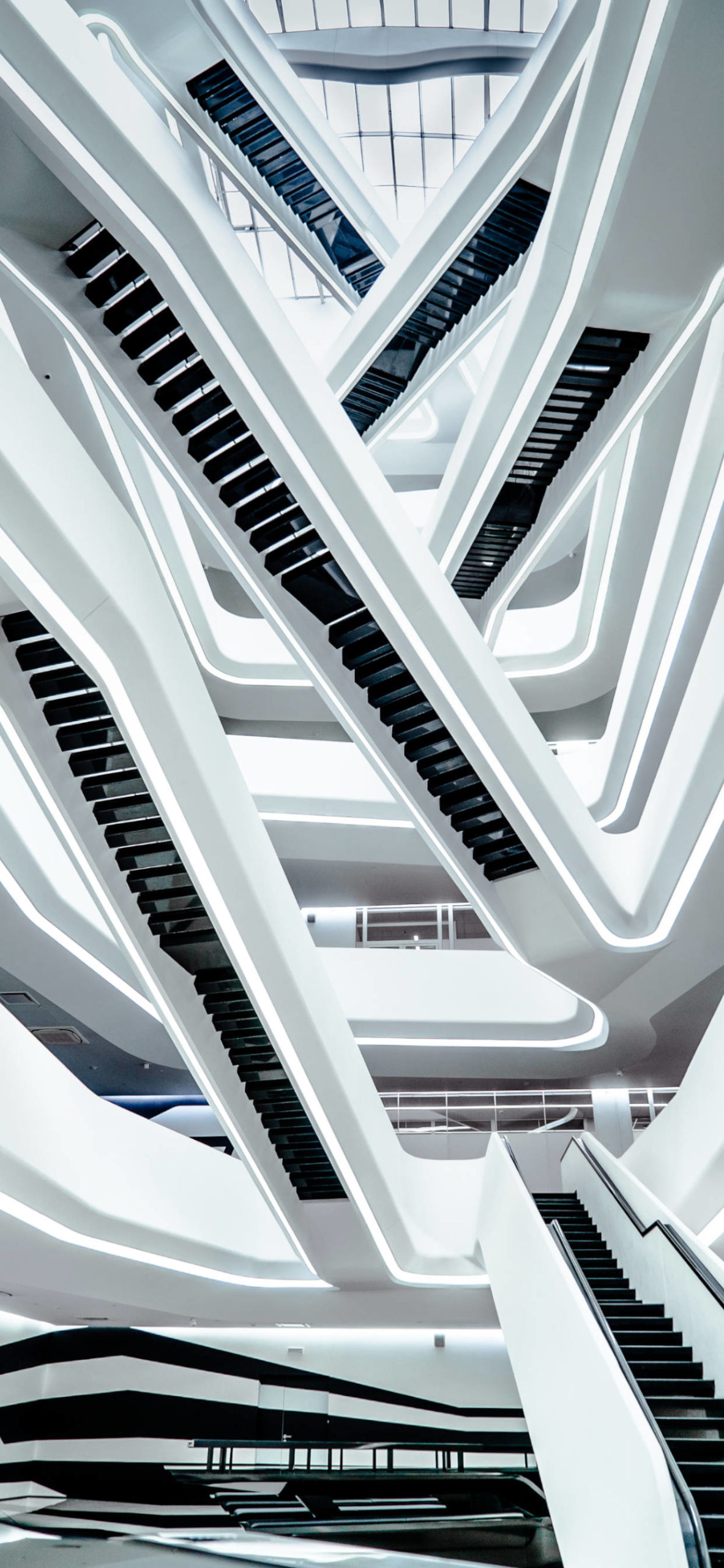 iPhone wallpapers architecture stairs white scaled Architecture