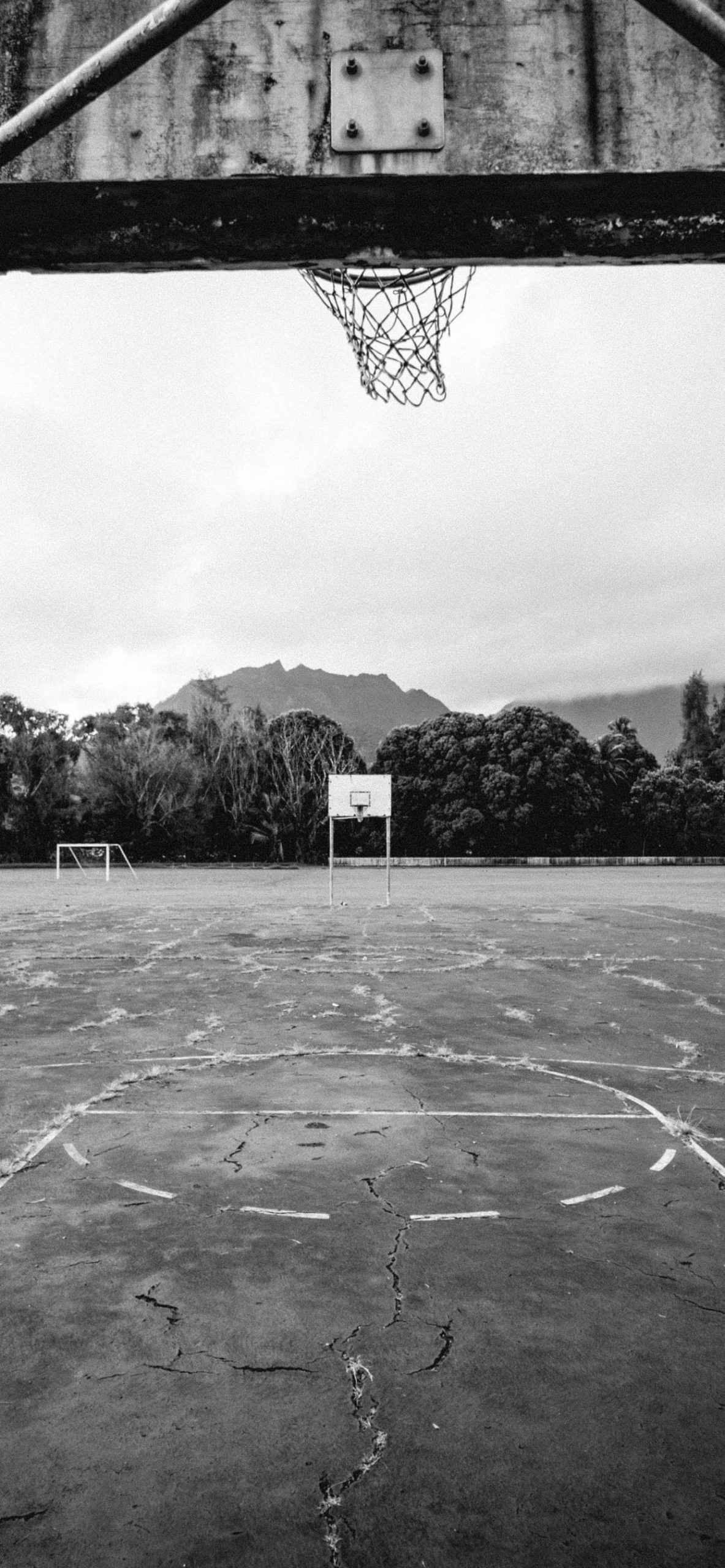 iPhone wallpapers basketball court hawaii scaled Basketball