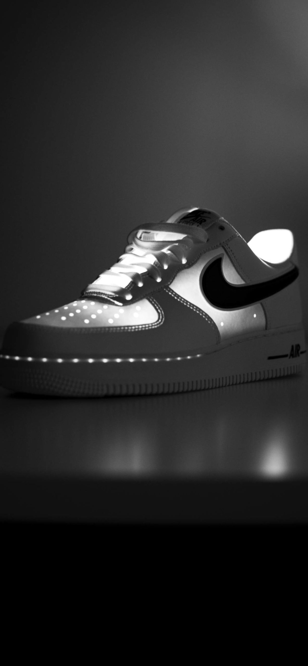 iPhone wallpapers nike air force one black white scaled Nike