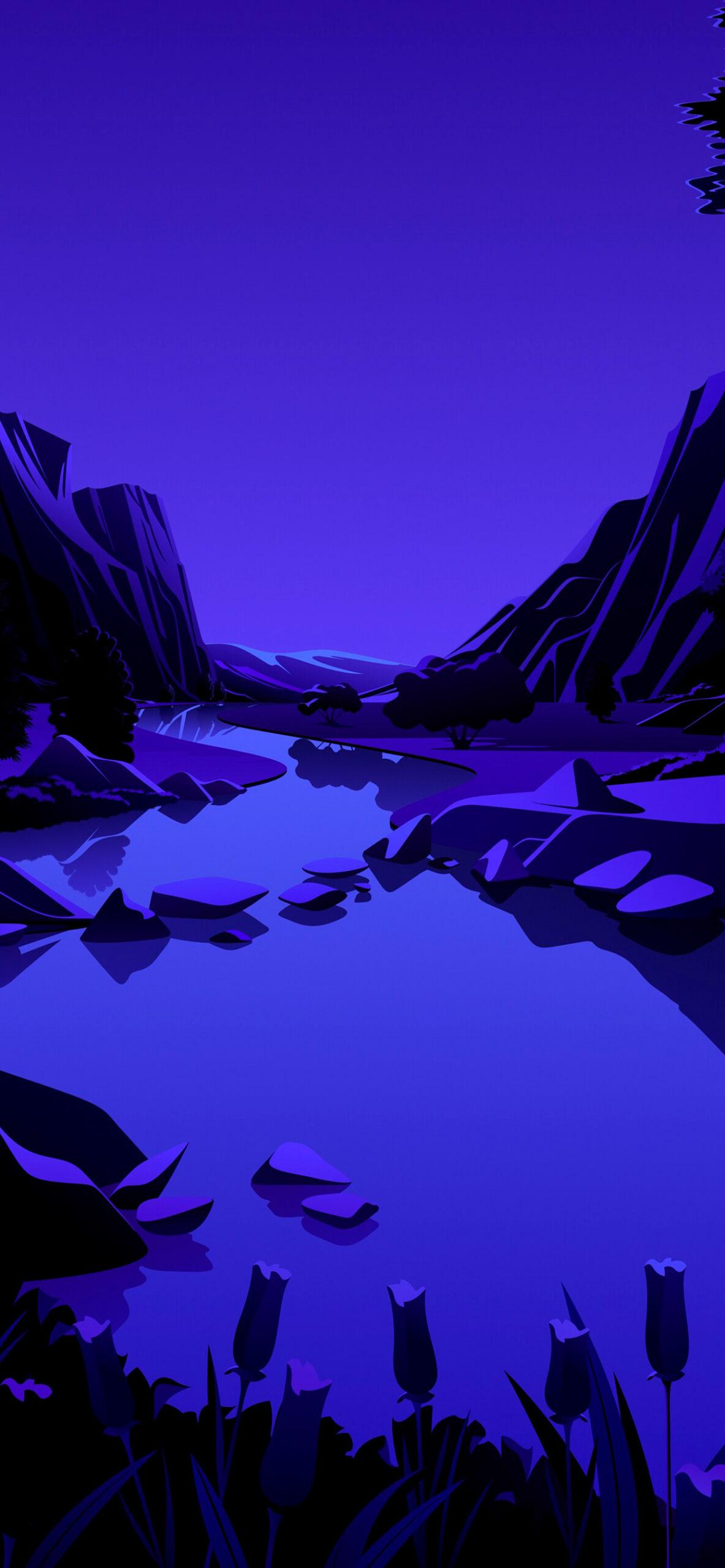 iphone Wallpaper Big sur lake7 scaled Mac OS Big Sur (Lake)