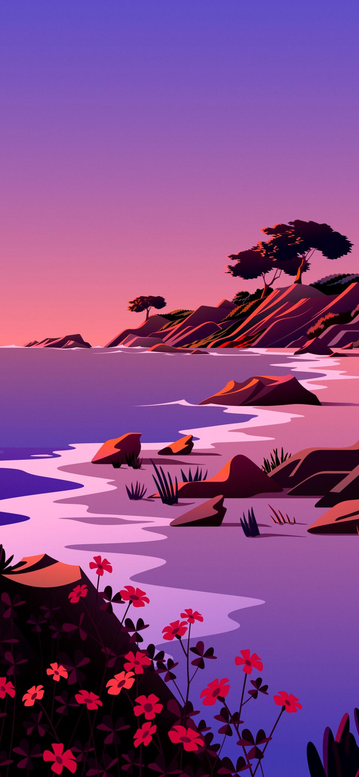 iphone wallpaper big sur beach5 scaled Mac OS Big Sur (Beach)