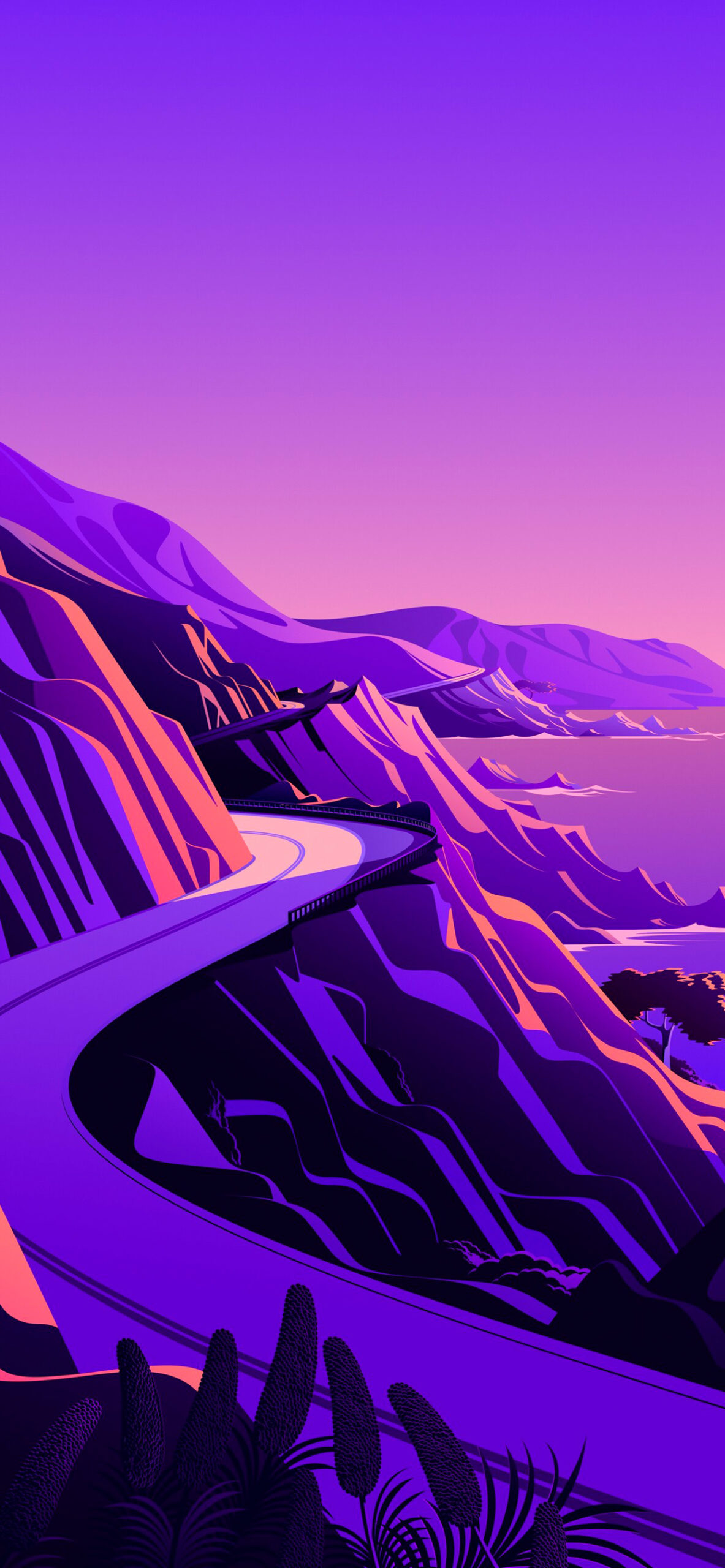 iphone wallpaper big sur cliffs5 scaled Mac OS Big Sur (Cliffs)