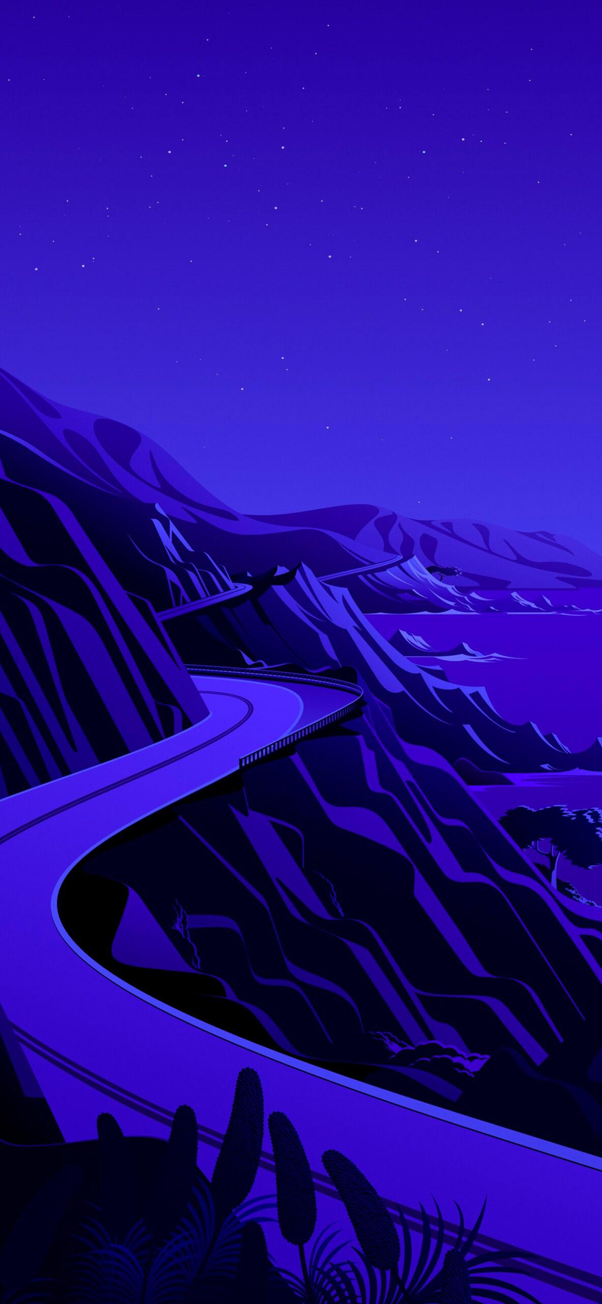 iphone wallpaper big sur cliffs7 scaled Mac OS Big Sur (Cliffs)