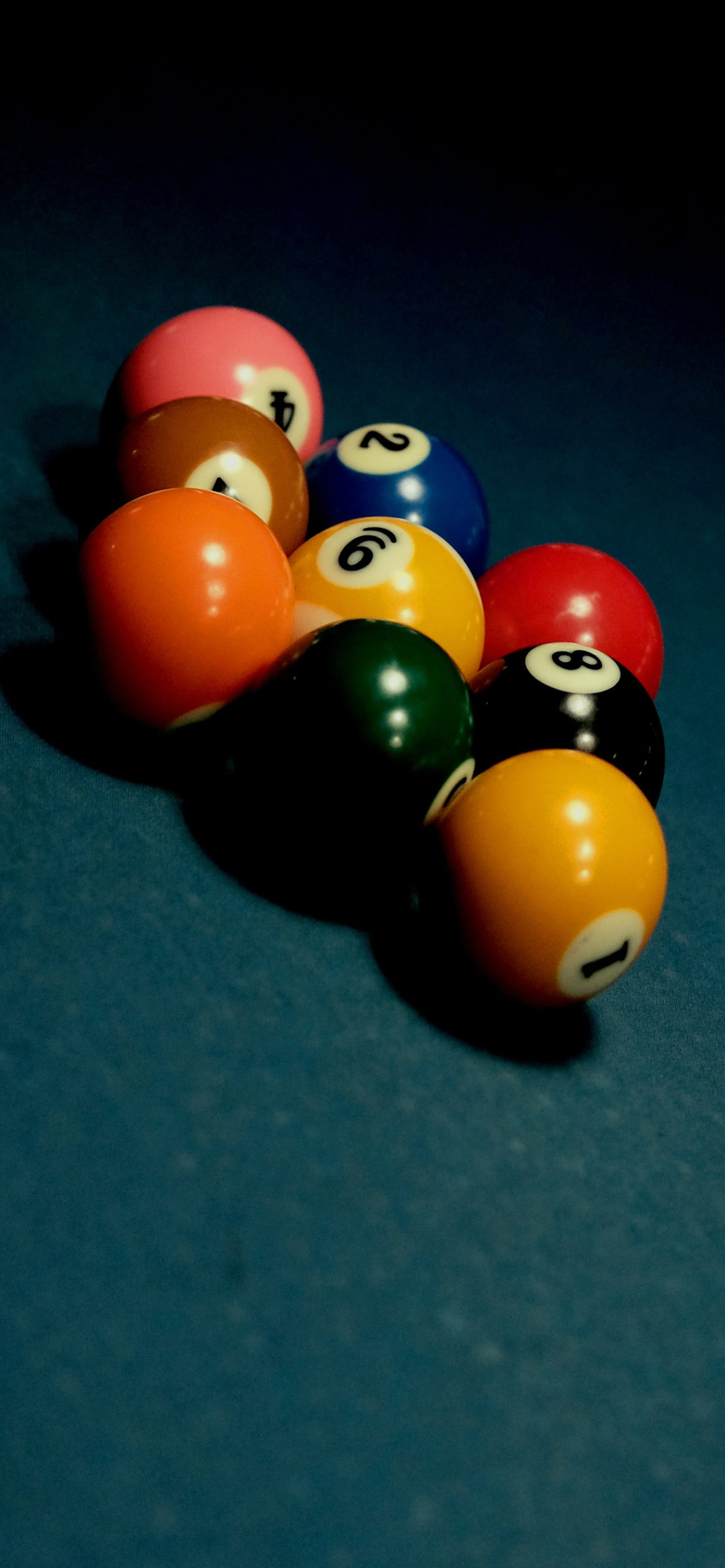 iphone Wallpapers pool balls scaled Pool game