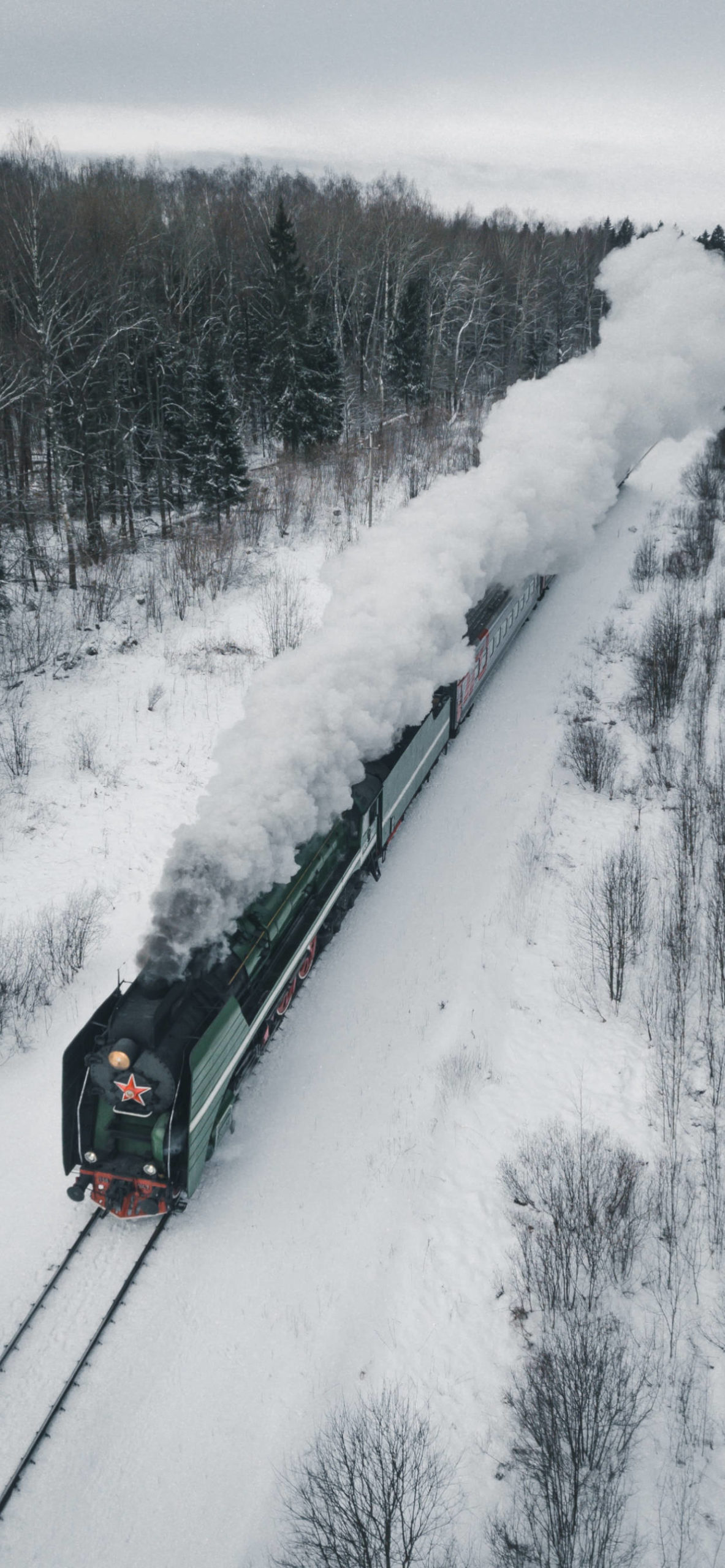 iPhone wallpapers train oblast russia scaled Train