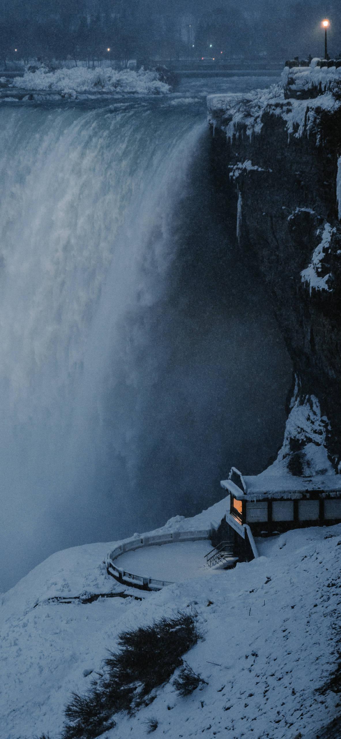 iPhone wallpapers niagara falls night Niagara Falls