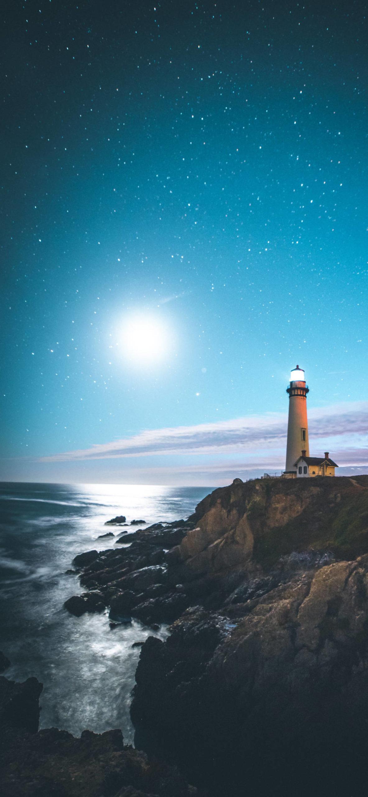 iPhone wallpapers lighthouse pescadero united states scaled Lighthouse