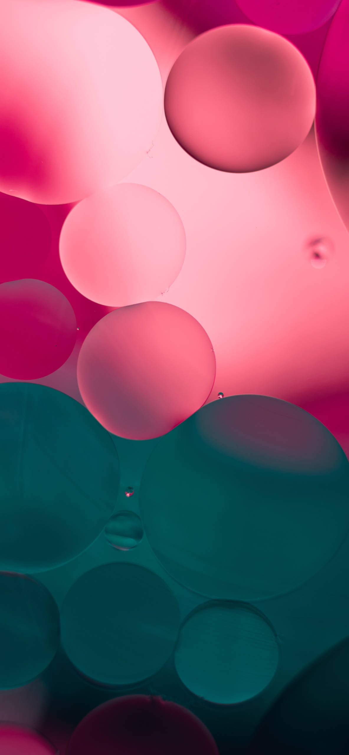 iPhone wallpapers abstract balls pink blue Abastract