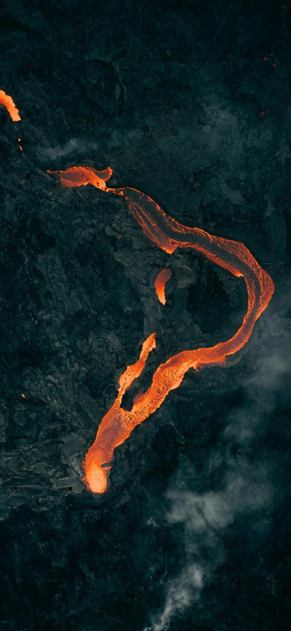 iPhone wallpapers lava river scaled Lava