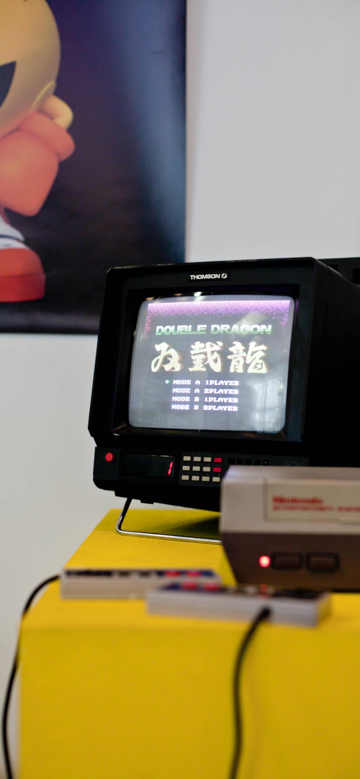 iPhone wallpapers gaming nintendo double dragon nes Nintendo