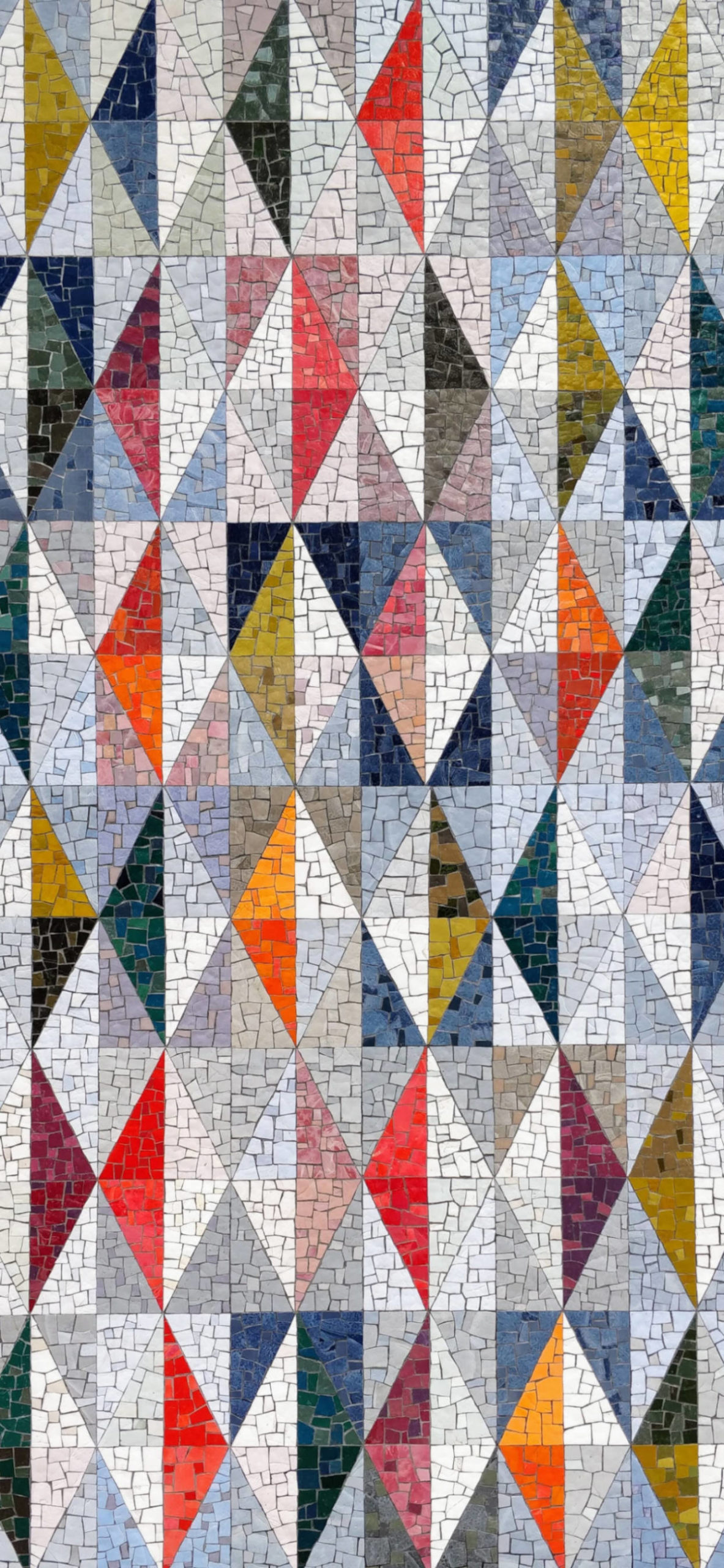 iPhone wallpapers mosaic colors triangles scaled Mosaic