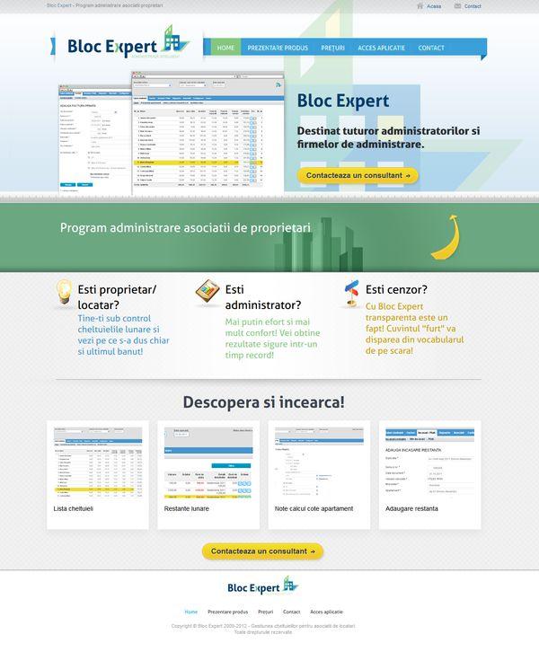 Site pe WordPress de prezentare aplicație online