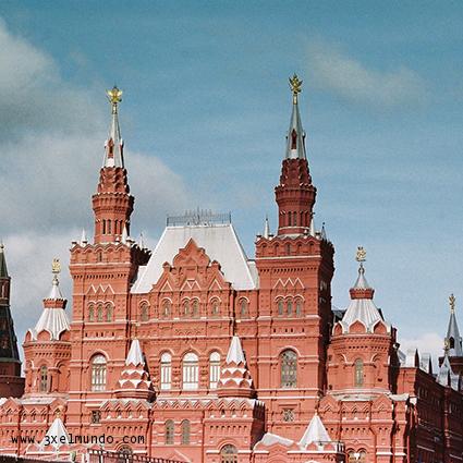 Museo estatal de Historia Plaza Roja de Moscú