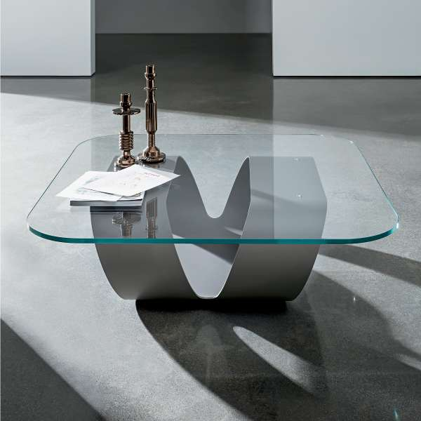 Table Basse Design En Verre Ring Sovet