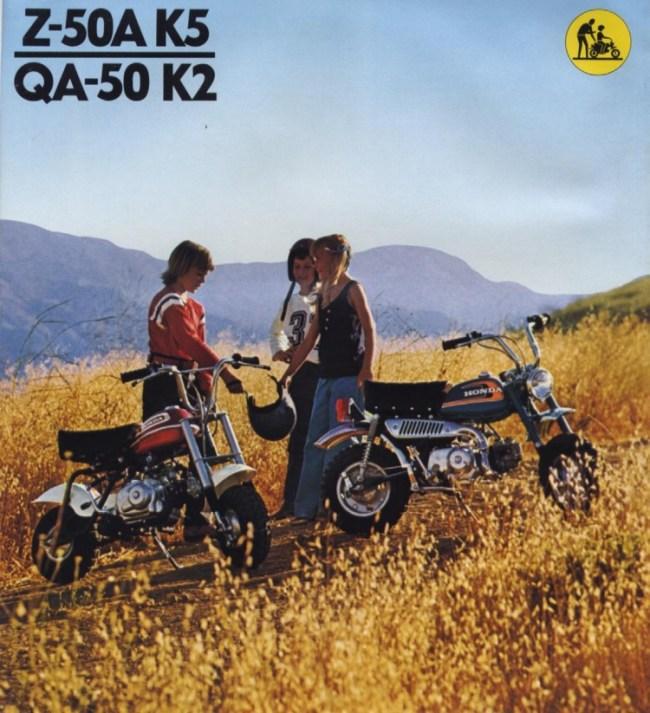 Honda Monkey Z50A and QA50