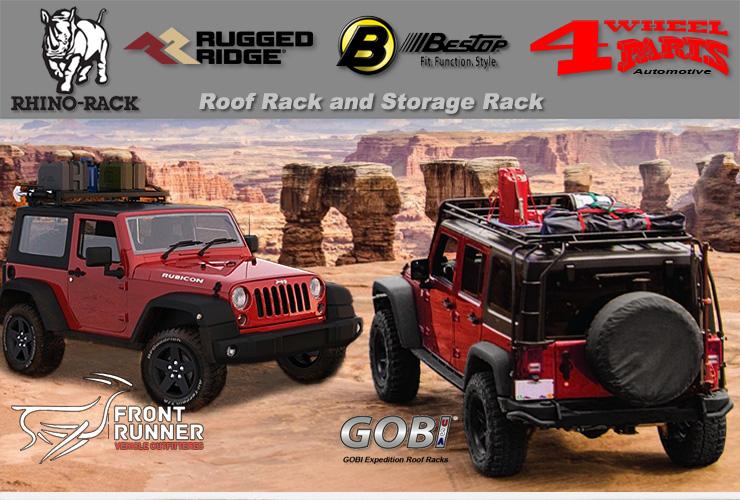 jeep wrangler jk overhead rack roof
