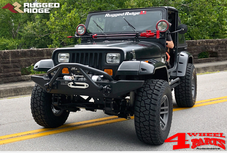 jeep wrangler yj fender flares 4