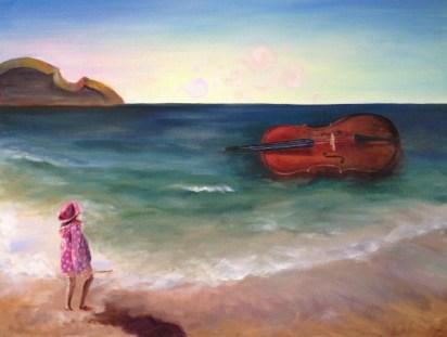 Cello by Soyeun Margolin