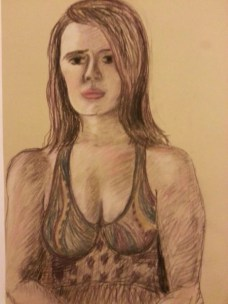 Girl by Sibel Roller-Walach, Pastels 2013