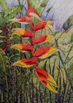Heliconia-Kew Palm House by Jenny-Farrey