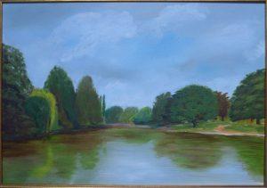 Osterley Lake by John Dawson