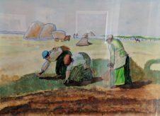 People at Work by Brian Woolard-£100