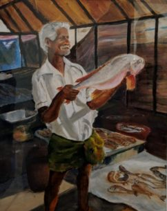 Prize Catch by Judith Raeburn-£65