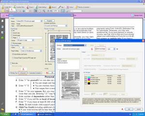 Steps to print PDF as Image