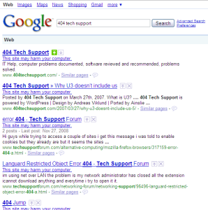 google-harm