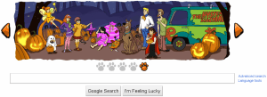 Scooby Doo Google Doodle Frame 5
