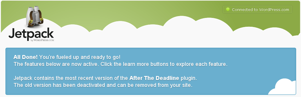 Problem with Wordpress com Site Stats? Upgrade to Jetpack! - 404