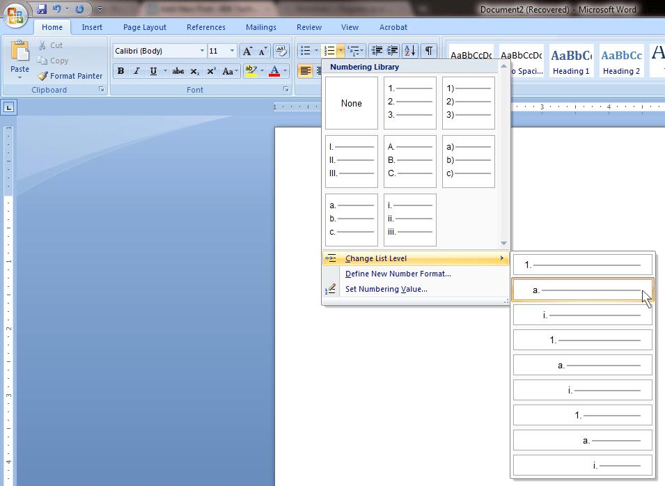 office tab key