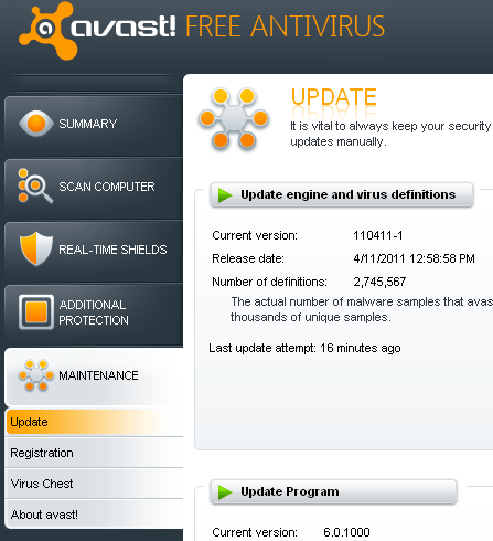 avast aborted connection