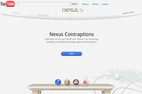 abce6fd0c75 Google Puts A Physics-Based Game On YouTube To Promote The Nexus S Phone