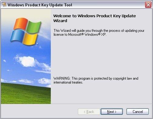 xp product key