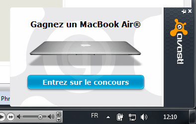 avast macbook air popup