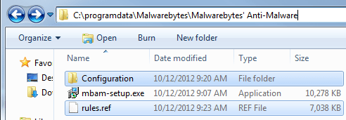 malwarebytes anti malware update manually