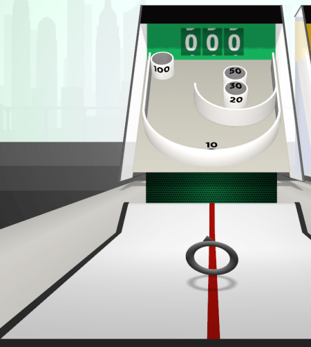 skee ball unusual