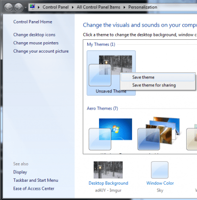 win7 save theme